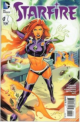 STARFIRE #1 Variant Cover 2015 DC NM