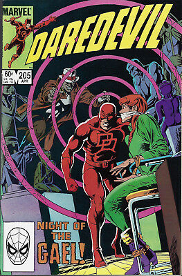 DAREDEVIL #205  Apr 1984