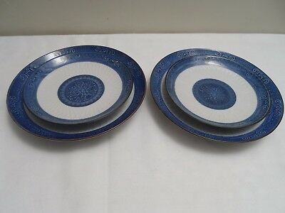 Toyo Japanese Porcelain Cobalt Blue and White China Made in Japan