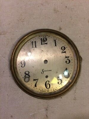 Sessions Tambour Mantle Clock Dial And Bezel With Glass Westminster Chi