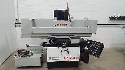 Used Okamoto ACC 1224 DX Surface Grinder REBUILT 2017 12x24 Magnetic Chuck