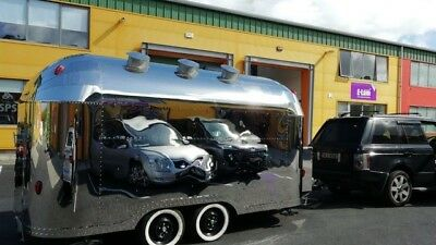 Airstream Mobile Catering Trailer Suitable for Burger, Coffee Gin Prosecco Pizza