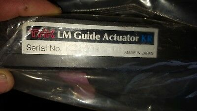 THK Linear Motion Guide Actuator KR3310A+600l0-0X0   NEW SEALED PACKAGE