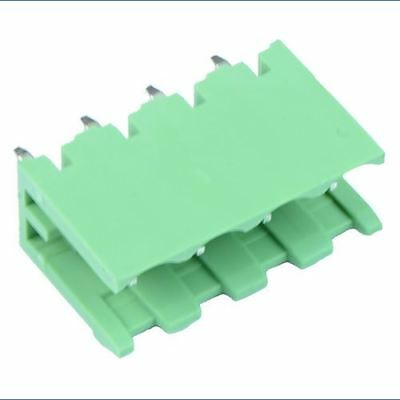 10 x 4-Way Plug-In PCB Vertical Open Ends Header 5.08mm