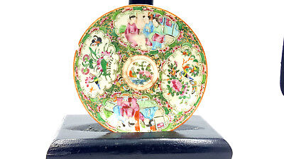Antique Chinese Famille Rose saucer