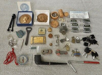 Vintage Junk Drawer Lot Collectibles & Antique Items