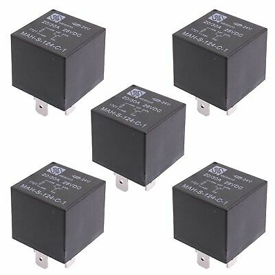5x 24V Automotive Changeover Relay 40A 5-Pin SPDT Auto