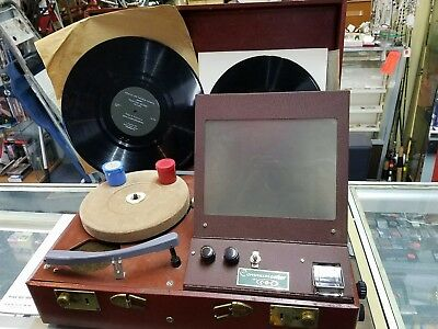 Vintage Phonograph And Projector camera Optics Corp model 92 Communicator by COC