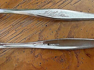 9pc Mixed Lot WOODMERE Oneida Community Stainless Flatware forks spoons knives
