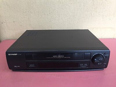 Serviced Sharp VC-A37 Video Recorder Player No REMOTE VHS Player VCR
