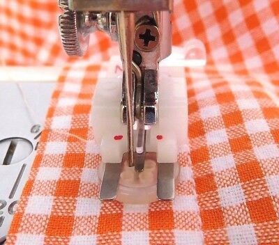 """Button Sewing Foot """"m"""" For Brother, Singer, Toyota,  Janome, Bernette Snap-On"""