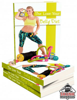 The Lose Your Belly Diet W/ Master Resell Rights + 10 Bonus eBooks W/ MRR PLR