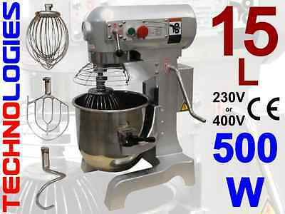 PLANETARY dough MIXER 15L / 5 kg dough HOBART design 230 or 400V / NEW IN STOCK!