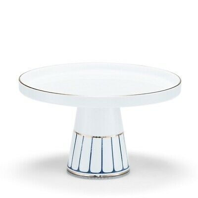 New Salt & Pepper Palais Footed Cake Stand 20cm
