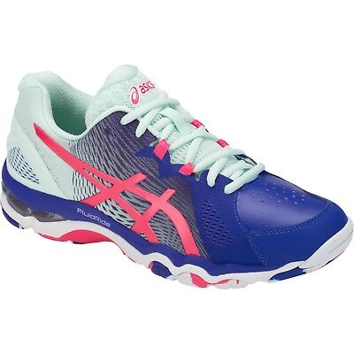 SAVE $$$ Asics Gel Netburner Super 8 Womens Netball Shoes (B) (400)