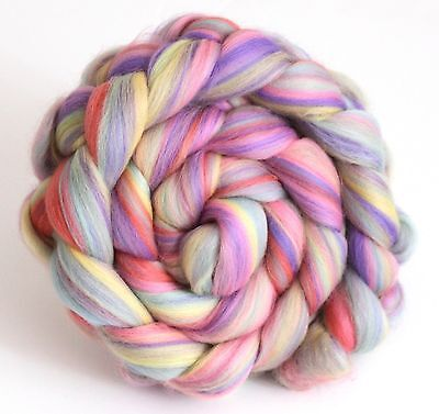 Merino Wool Blend Babyface Pastels 100g Handspinning Combed Wool Top Felting