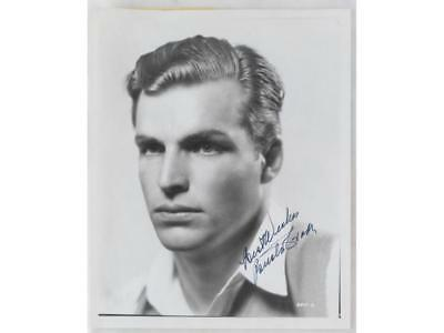 Buster Crabbe Autographed Photo Lot 100A