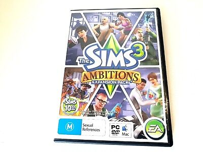 The Sims 3: Ambitions Expansion Pack (PC/Mac) Simulation Game