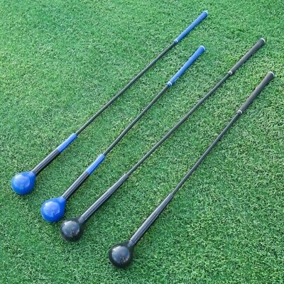 40inch Golf Swing Trainer Indoor Practice Club Strength Tempo Flex Training Aid