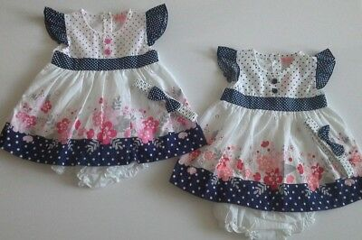 Baby girl clothes dress with knickers and headband by Baby C    6-24 months