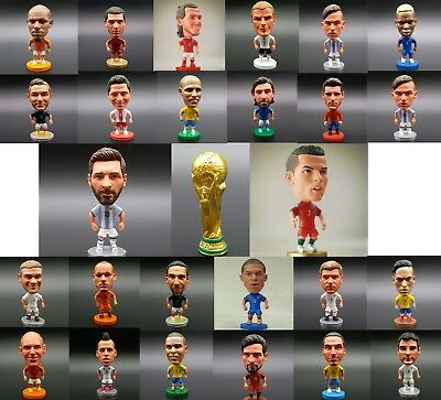 Fifa World Cup 2018 Soccer Football Player Figure Doll Collecting Messi Gift