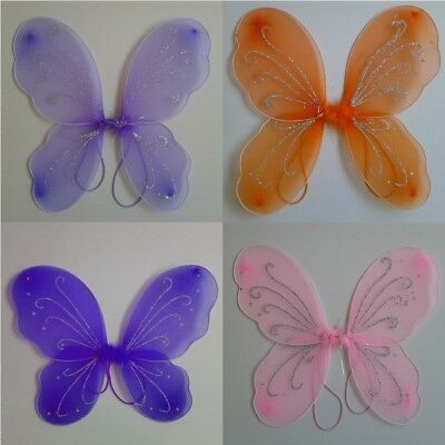 Toddler Kids Girls Angel Fairy Butterfly Wings Fancy Princess Party Outfits USA