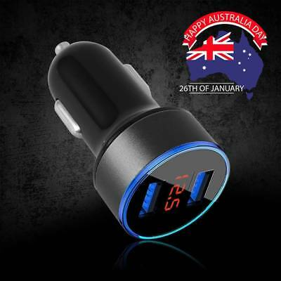2X Dual USB Car Charger Power Adapter Cigarette Lighter Socket / Plug /Connector