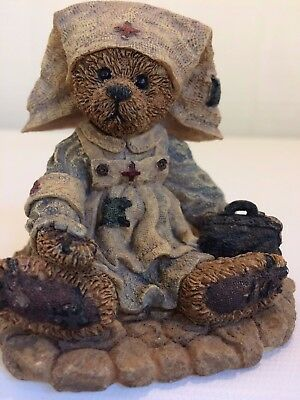Boyds Bears and Friends Clara The Nurse With gentle hands and warm heart #2231