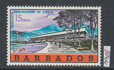 XG-AJ845 BARBADOS IND - Architecture, 1968 United Nations Building MNH Set