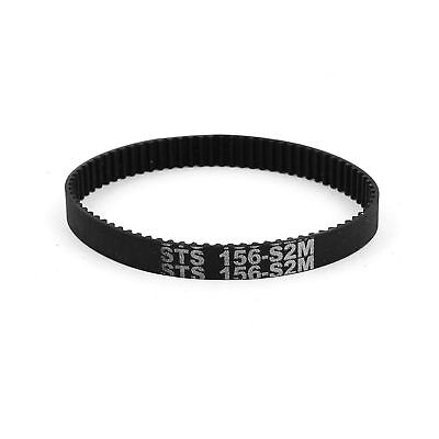 6mm Width 78 Teeth Engine Rubber Timing Belt 156mm Pitch Long S2M-156 .