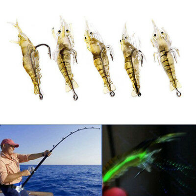 Shrimp Modeling 5Pcs Fishing Killer Tools Twitching Accessories Simulational
