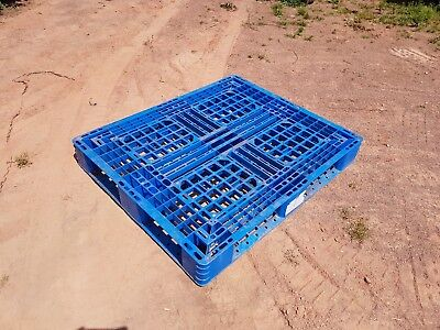 "Plastic Pallets 47""x39"" Storage Not Wooden"