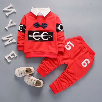 Baby Boys Clothing Sets Party Clothes Toddler Boy Outfits Suits T-shirt + Pants