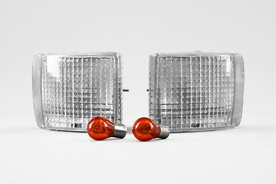 Ford Escort Cosworth 92-95 Clear Front Indicators Repeaters Set Pair Left Right
