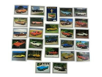 Ford Mustang Collector Cards Sealed Box of 25 Numbered Limited Edition 1992