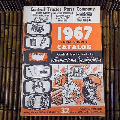 Vintage Central Tractor Parts Company Catalog John Deer Book 1967