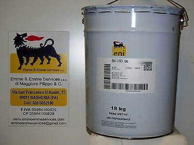 oil Hydraulic Eni Oso 100 FROM KG 18 (oil for systems hydraulics)