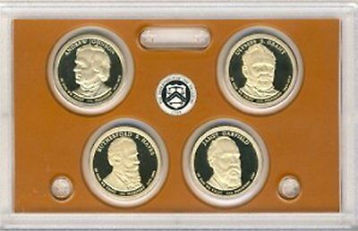 2011 Presidential Proof Dollar Set  Deep Cameo    NO BOX OR COA   Free shipping