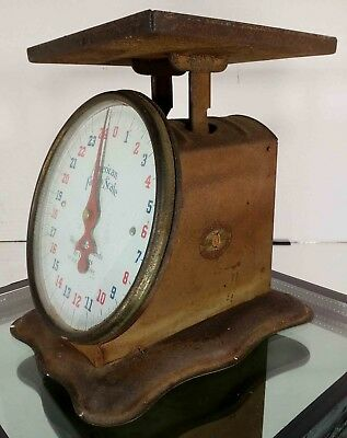 Vintage American Family Kitchen Scale - 25 Lbs Scale  Works