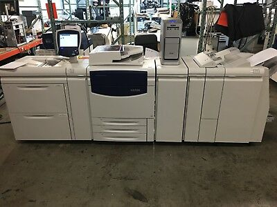 Xerox 700i Digital Color Press Full Config with EX700i LOW meter 674k