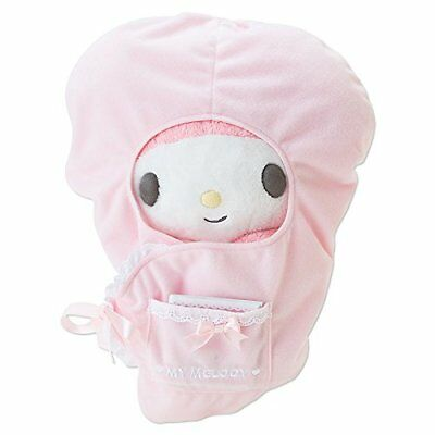 Sanrio My Melody Swaddled Baby Plush Doll Japan 11.8""