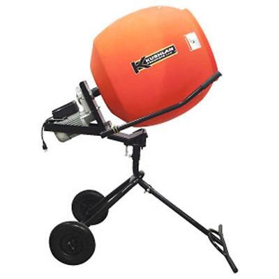 Kushlan Products 600MP 6.0 CF 3/4 HP 120 Volt Direct Drive Pedestal Cement Mixer