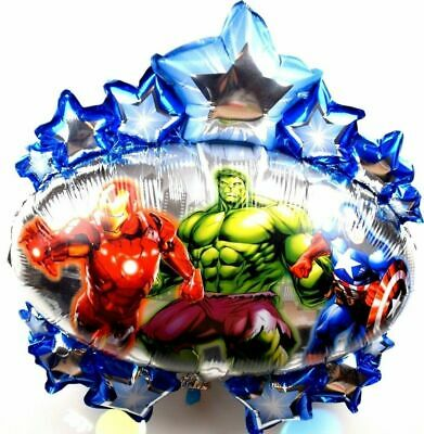 R4F1 XL Helium Folienballons Geburtstag Hero Captain America Hulk Batman balloon