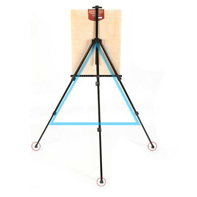 Folding Telescopic Exhibition Board Stand Painting Tool Artist Tripod Rack