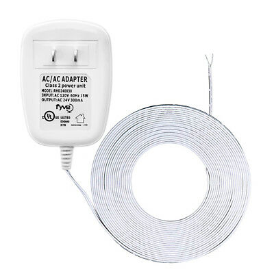 24 Volt C-Wire Power Adapter-Transformer Wifi Smart Thermostats and Doorbells