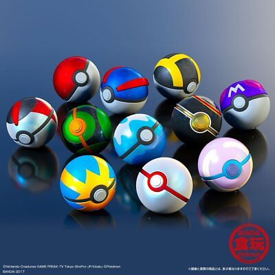 Premium Bandai Limited Pokemon Pocket Monster Ball Collection SPECIAL 11type Set