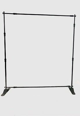 Yescom 8 Step and Repeat Display Backdrop Banner Stand Adjustable Telescopic