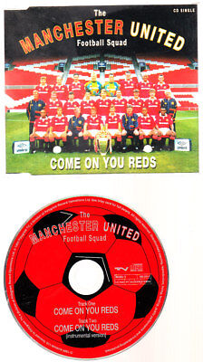 Music CD, Manchester United, Come on you Reds