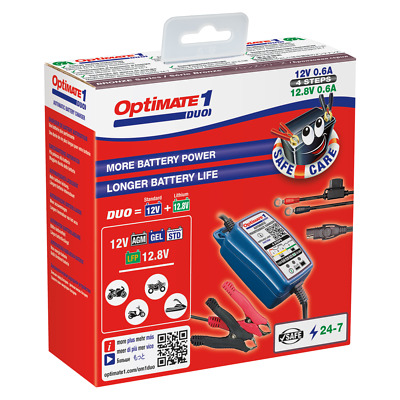OptiMate 1 Battery Charger & Maintainer UK Supplier & Warranty 2019 (NEW)