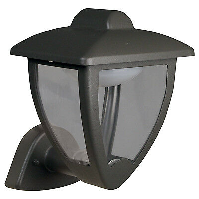 Luxform Lighting 230v Luxembourg Wall Light Up in Anthracite